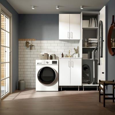 Vaskerom Miljø 170 cm m/Hvit benkeplate