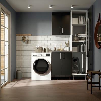 Vaskerom Miljø 170 cm m/Lys eik benkeplate