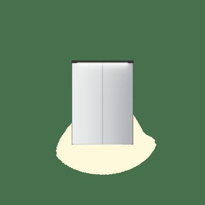 Variant speilskap B60 H80 med lystopp