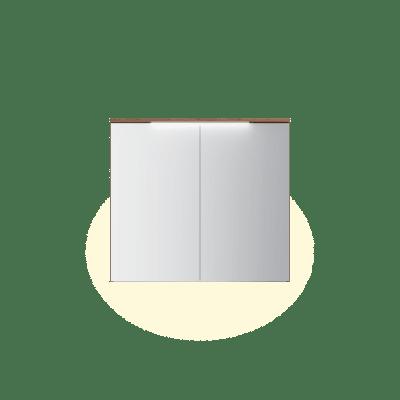 Variant speilskap B90 H80 med lystopp
