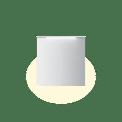 Variant speilskap B80 H80 med lystopp