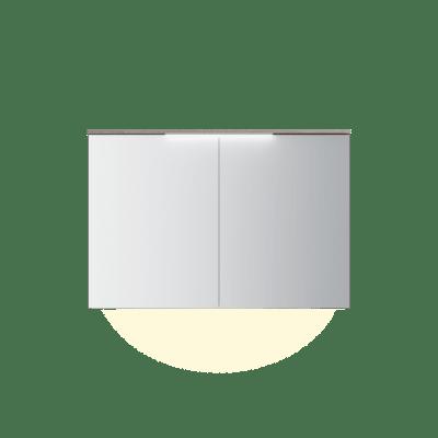Variant speilskap B120 H80 med lystopp