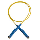 Patch cord, E2000/PC-E2000/PC, 9/OS2/2000, 5 m, yellow