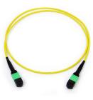 Cable, 12 fibre 9/OS2, MPO/A(F)-MPO/A(F), 20 m, pol A