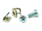 Spring nut, screw, M6, 100-pack