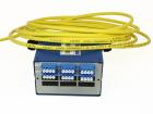 Veggboks DIN, 12 LC/APC, adapter, SM