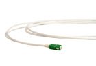 Subscriber cable, SC/APC, 9/OS2/4500, 15 m, white