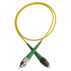Patch cord, FC/APCR-FC/APCR, 9/OS2/2000, 1 m, yellow