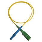 Patch cord,  SC/APC-LC/PC, 9/OS2/2000, 3 m, yellow