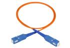 Attenuating patch cord 1 m, SC/PC-SC/PC, 6 dB