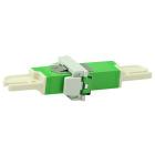 Adapter, E2000/APC SPX w/holder, SM