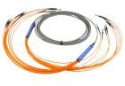 12-fibre AXXI, SM, E2000/PC-E2000/PC, 10 m