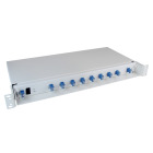 8+1 kanals CWDM, 1471-1611/1260-1458, LC/PC
