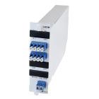 Module, 4 channel CWDM, SM, 1-fibre, LC/PC, A-side