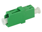 Adapter, LC/APC SPX, grønn