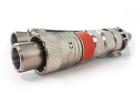 8-fiber, Hawke Connector, Pin, OM1, QFCI, 10m