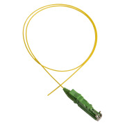 Pigtail, E2000/APC, 9/OS2/900, 1.5 m, yellow