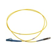 Patch cord, LC/PC-MU/PC, 9/OS2/2000, yellow