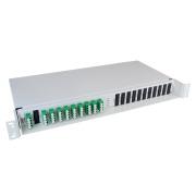 2 x 8+1 channel CWDM, SM, 1471-1611/1260-1458, LC/APC