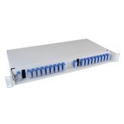 2 x 8+1 channel CWDM, 1471-1611/1260-1458, SC/PC