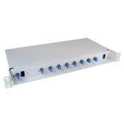 4 channel CWDM, SM, 1-fibre, LC/PC, A side