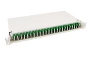 Panel FP65 PRO, 96 LC/APC, adapter, SM