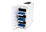 Wall box DIN MINI, 12 LC/PC, adapter, SM