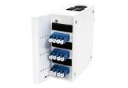 Wall box DIN MINI, 12xLC/PC-1x12 MPOAM OS2, A