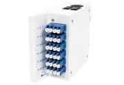 Wall box DIN MINI, 24xLC/PC-2x12 MPOAM OS2, A