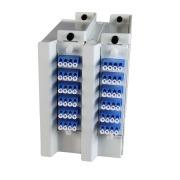 Wall box, DIN, 18-channel CWDM, 1271-1611, LC/PC