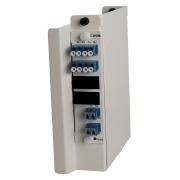 Wall box, DIN, 4 channel CWDM, SM, 1271-1331, LC/PC
