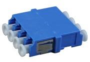 Adapter, LC Quad, FL, blue