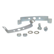 Clips, DIN rails, kit,