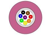 G12-50/OM4 BB AXAI-I/O-W (violet)