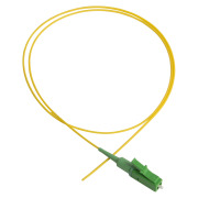 Pigtail, LC/APC, 9/OS2/900, 1.5 m, yellow