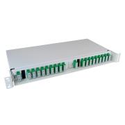 2 x 8+1 channel CWDM, SM, 1471-1611/1260-1458, SC/APC