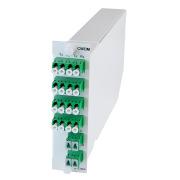 Module, 8+1 channel CWDM, SM, 1471-1611/1260-1458, LC/APC