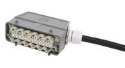 12-fiber HAN Plug Std - HAN Plug Std, AXAI, 9/OS2, 10m