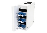 Veggboks DIN MINI, 12xLC/PC-1x12 MPOAM OS2, A