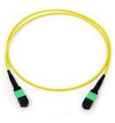 Cable, 12 fibre 9/OS2, MPO/A(F)-MPO/A(F), pol B