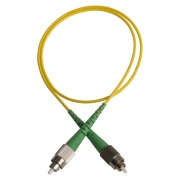 Patch cord, FC/APCR-FC/APCR, 9/OS2/2000, yellow
