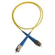 Patch cord, FC/PC-FC/PC, 9/OS2/2000, yellow