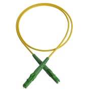 Patch cord, LC/APC-LC/APC, 9/OS2/2000, yellow