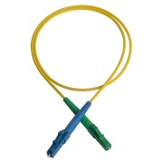Patch cord, LC/APC-LC/PC, 9/OS2/2000, yellow