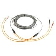 2-fibre AXAI, 50/OM3, LC-LC