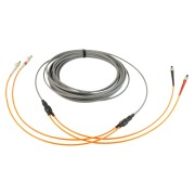2-fibre AXAI, 62.5/OM1, ST-ST