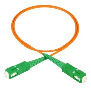 Attenuating patch cord, 1 m, SC/APC-SC/APC