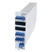 Modul, 4+2 kanal CWDM SM, 1471/1491-1591/1611 + 2 x Upgrade