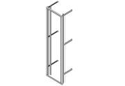 Wall mount Flexi Rack