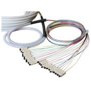 12-fiber AXAI, 50/OM3, ST-ST